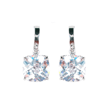 Load image into Gallery viewer, Cushion Cut Deco Diamontage™ 13.68 Carat Earrings