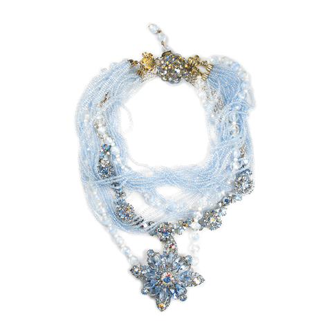 Ornate One-of-A-Kind Schiaparelli Mist Drop Necklace