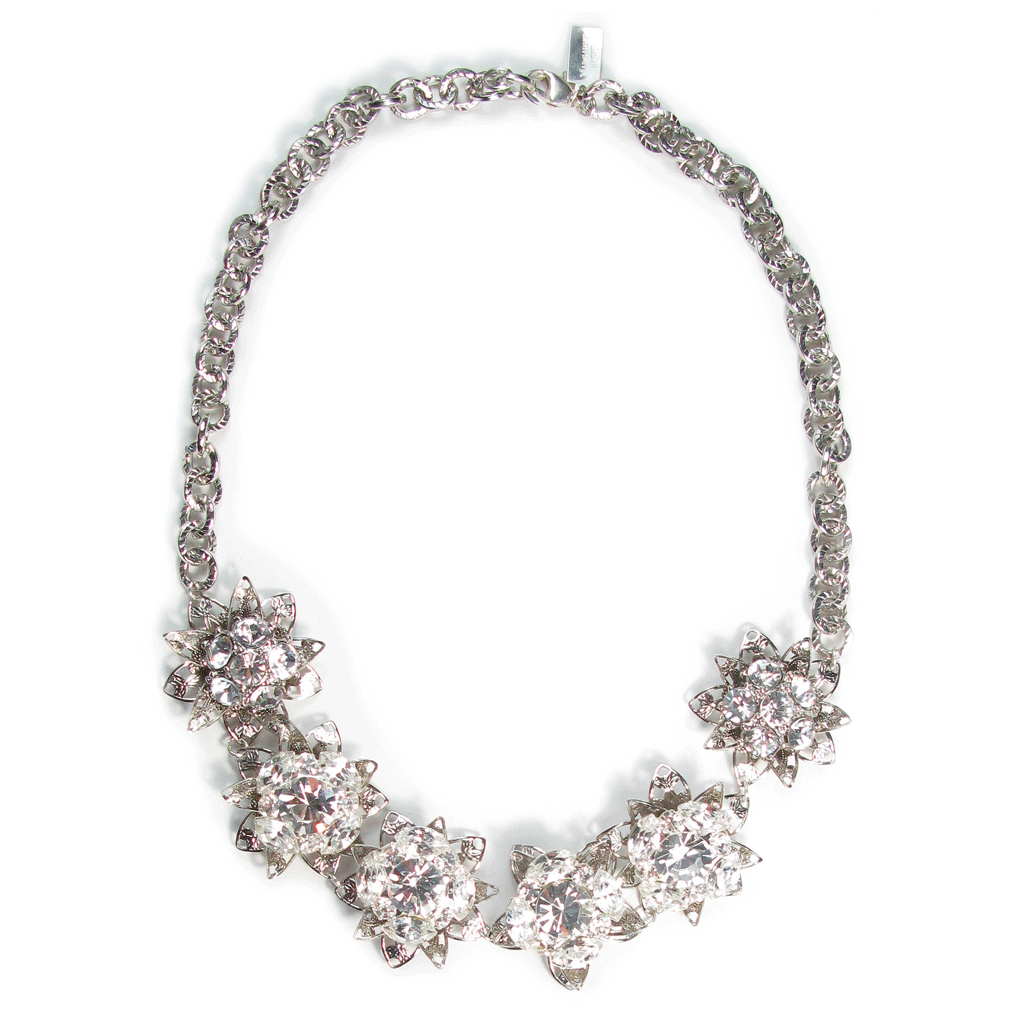 One-Of-A-Kind Shimmering Gatsby Garden Heirloom Necklace