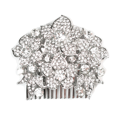 Floral Splash Head Comb