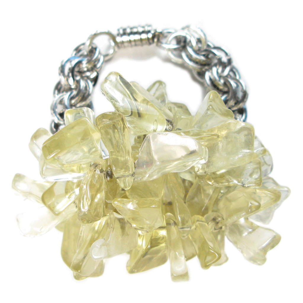 Lemon Quartz Water's Edge Bracelet