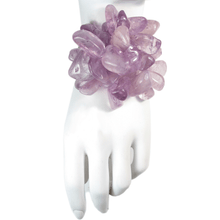 Load image into Gallery viewer, Amethyst Malibu Bloom Bracelet