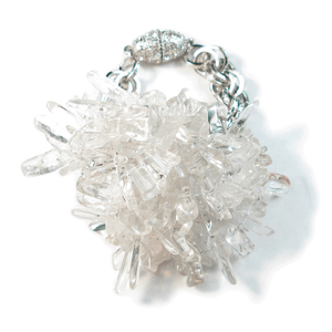 Crystal Quartz Catalina Bracelet