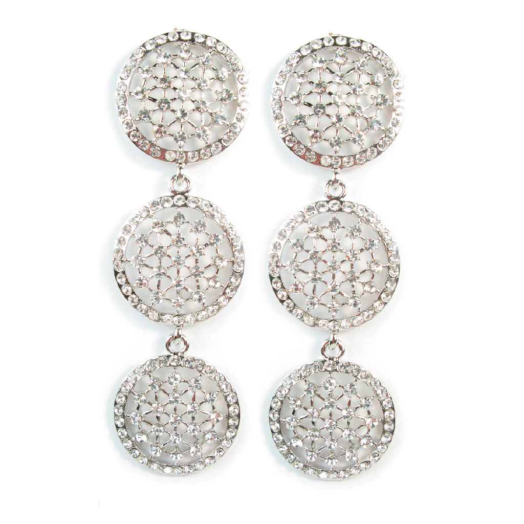 Deco Constellation Trio Earrings