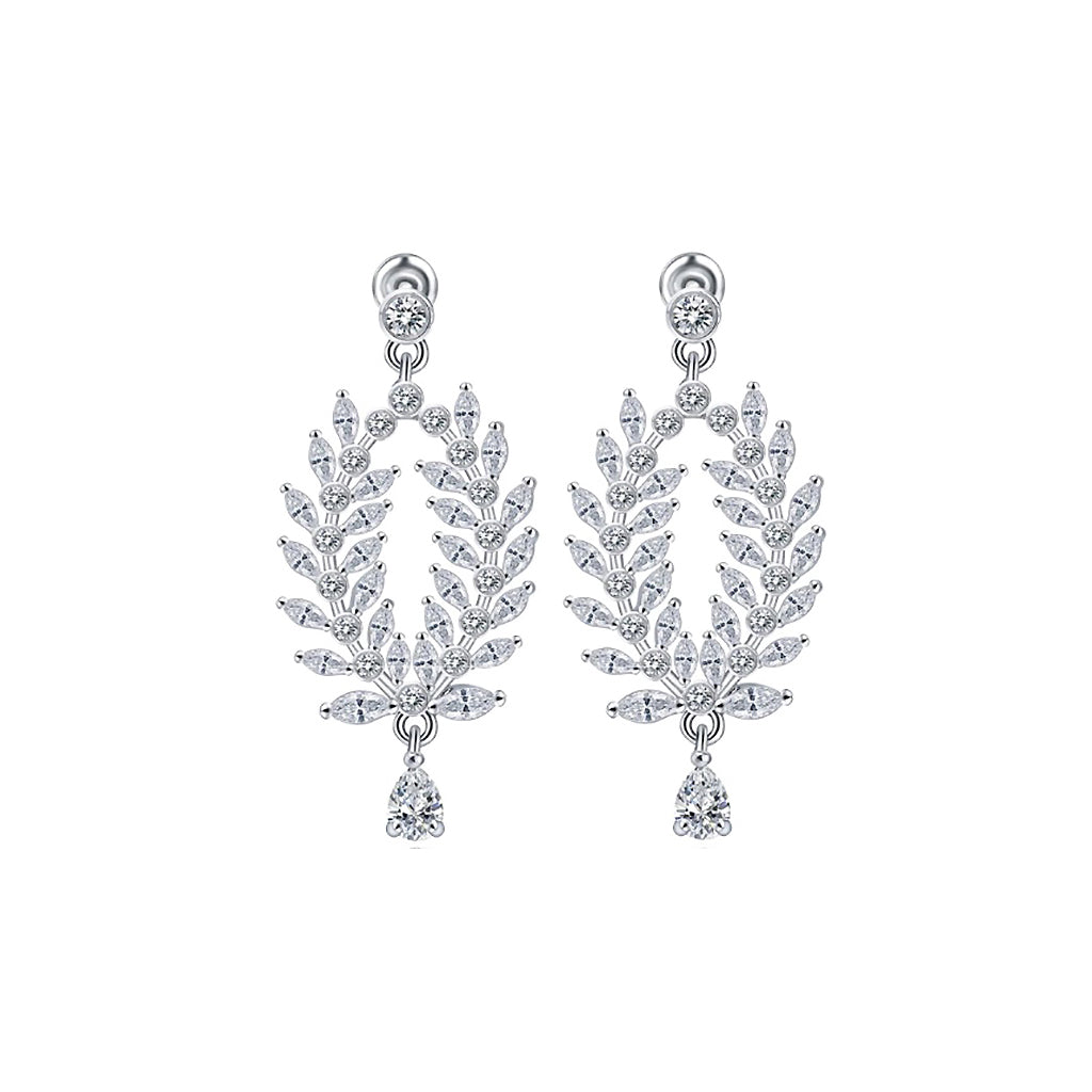 Marquise Crest Drop Diamontage™ 8.6 Carat Earrings