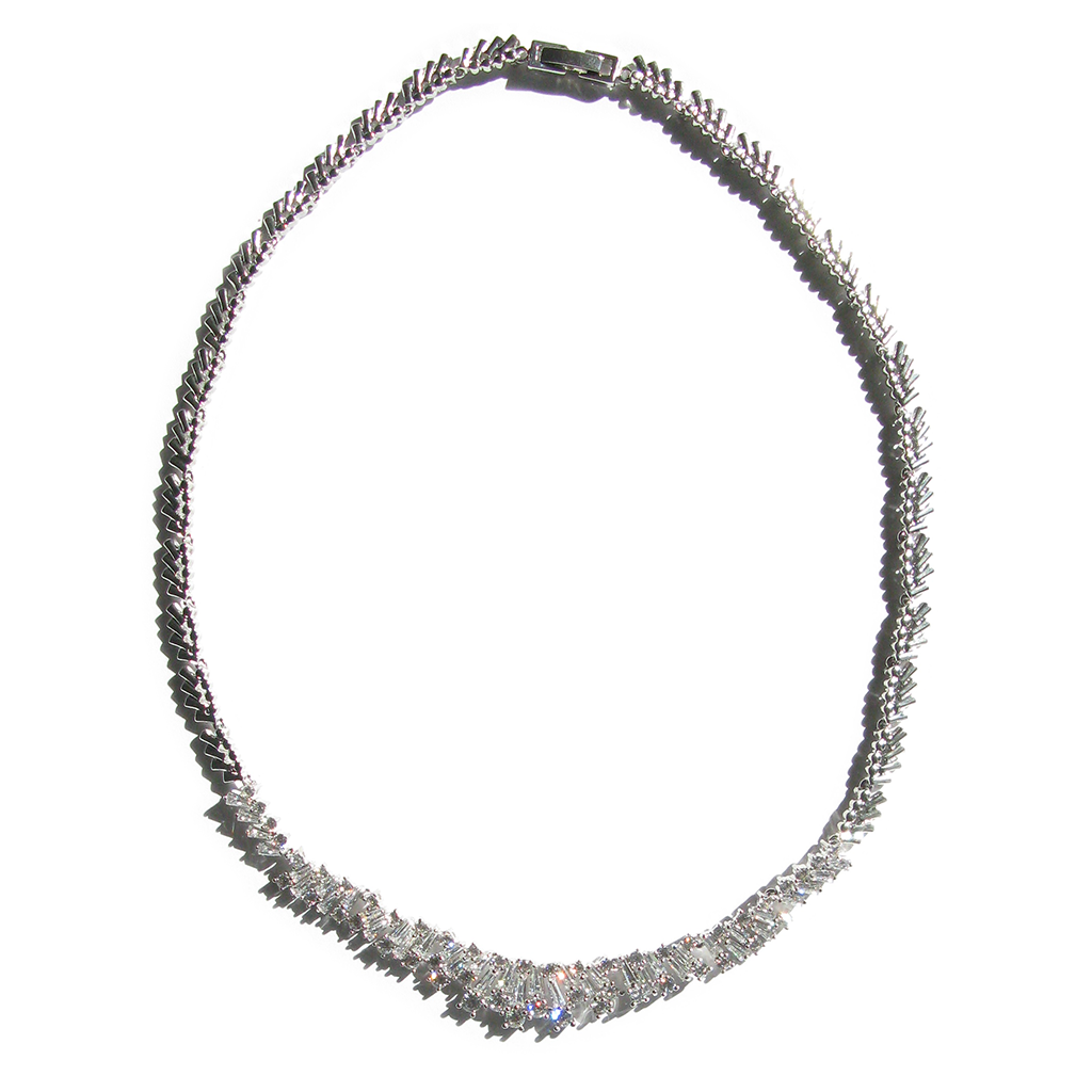 Geometric Grandeur Diamontage™ 8.60 Carat Necklace