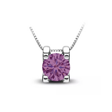 Load image into Gallery viewer, The Gail Honora Solitaire Necklace