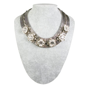 One-Of-A-Kind Gatsby Garden Heirloom Collar Necklace