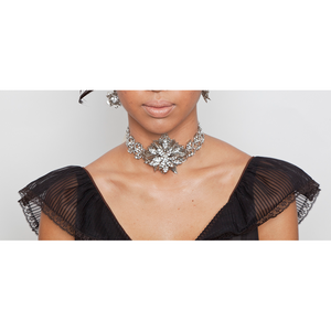 One-Of-A-Kind Classic Magnolia Choker
