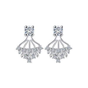 Spiritual Tree Of Life Diamontage™ 4.2 Carat Earrings