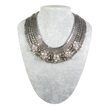 Load image into Gallery viewer, One-Of-A-Kind Gatsby Garden Heirloom Collar Necklace