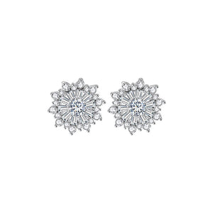 Baguette Burst Diamontage™ 4.4 Carat Earrings