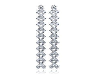Dripping Infinity Diamontage™ 6.0 Carat Earrings