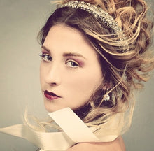 Load image into Gallery viewer, One-Of-A-Kind Love's Union Tiara Headpiece Sash