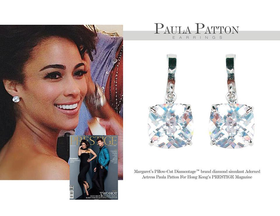 Mergeret Rowe Couture Jewelry Diamontage Earrings