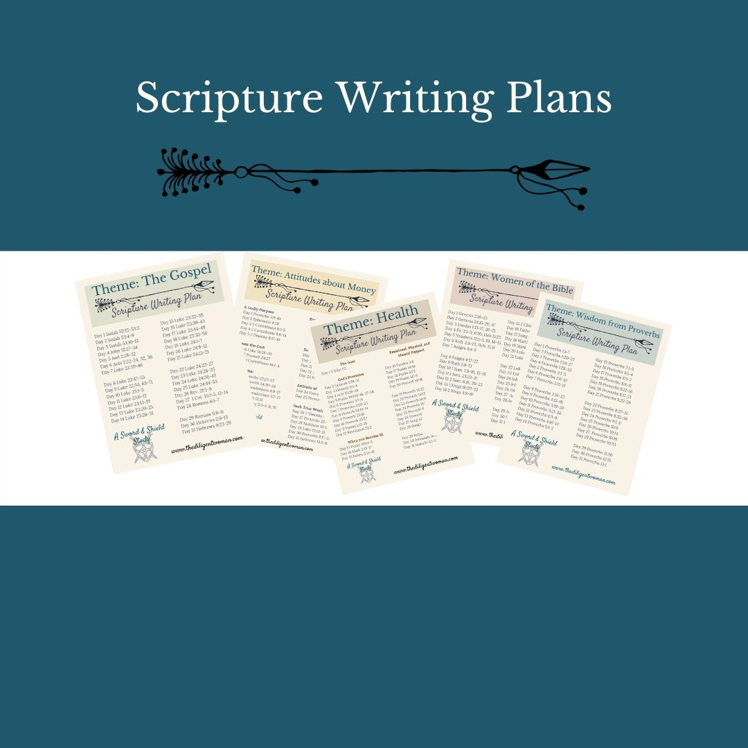 Scripture Writing Kits