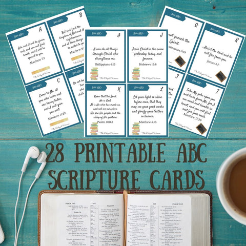 ABC Scripture Card Printable