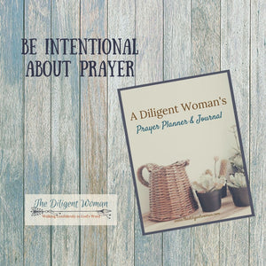 A Diligent Woman's Prayer Planner & Journal