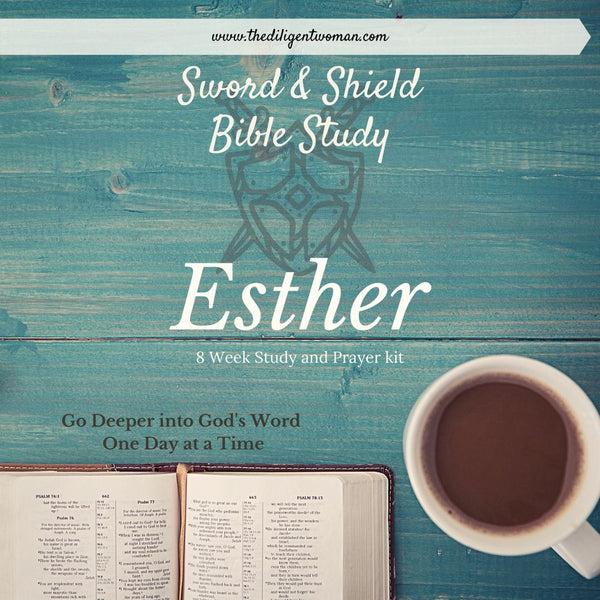 Esther 8-Week Study & Prayer Kit