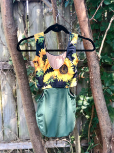 WOMENS Olive & Sunflowers DELTA
