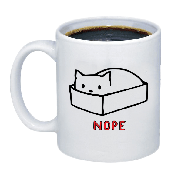 Nappy Cat Coffee Mug