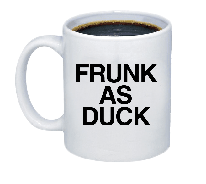 Frunk as Duck Coffee Mug