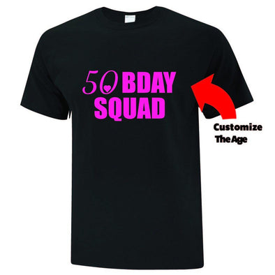 Birthday Squad Inspired TShirt