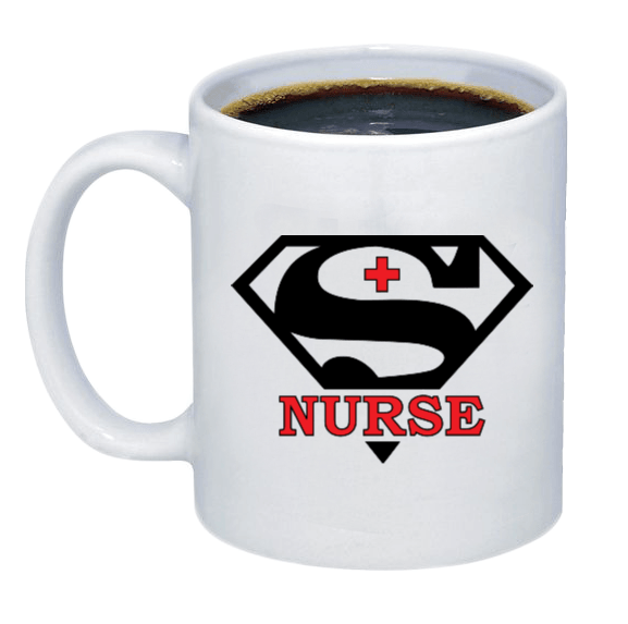 Super Nurse Coffee Mug - Printwell Custom Tees