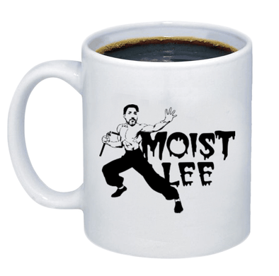 Moist Lee Coffee Mug - Printwell Custom Tees