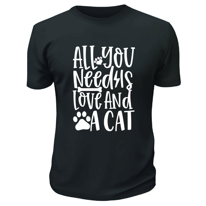 All You Need Is Love and a Cat Shirt