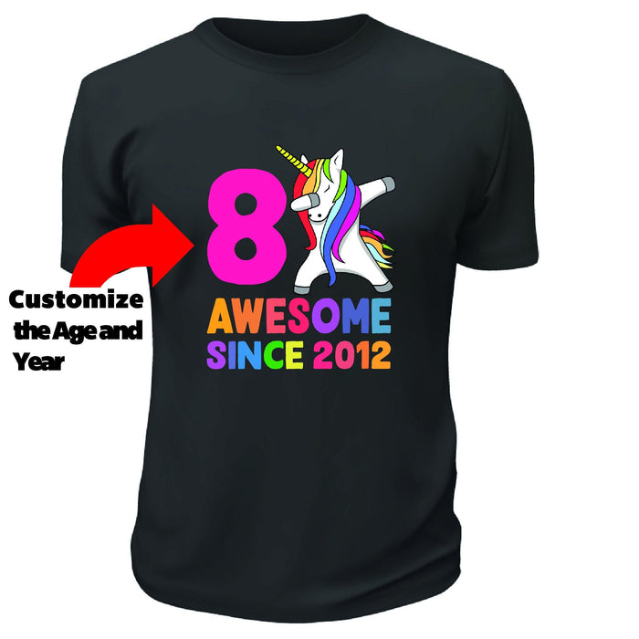 Awesome Since Unicorn TShirt