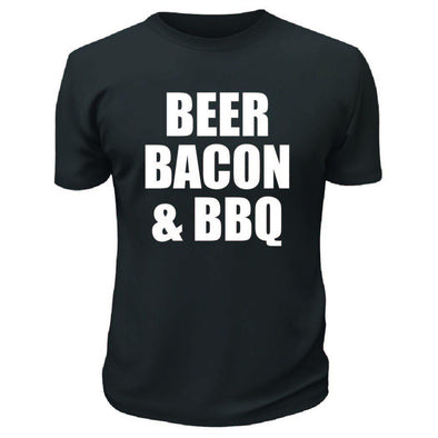 Beer Bacon And BBQ TShirt