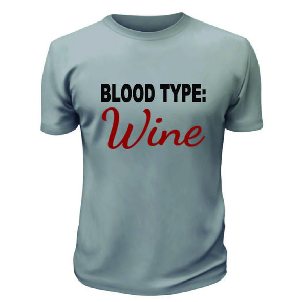 Blood Type Wine TShirt