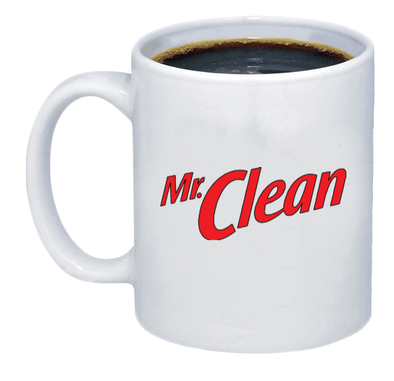 Mr. Clean Coffee Mug - Printwell Custom Tees