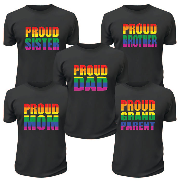Proud Pride Dad TShirt
