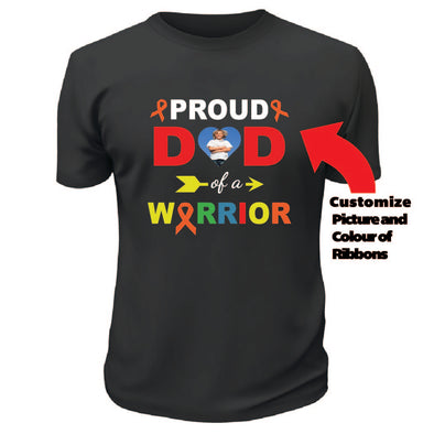 Proud Dad of a Warrior Shirt