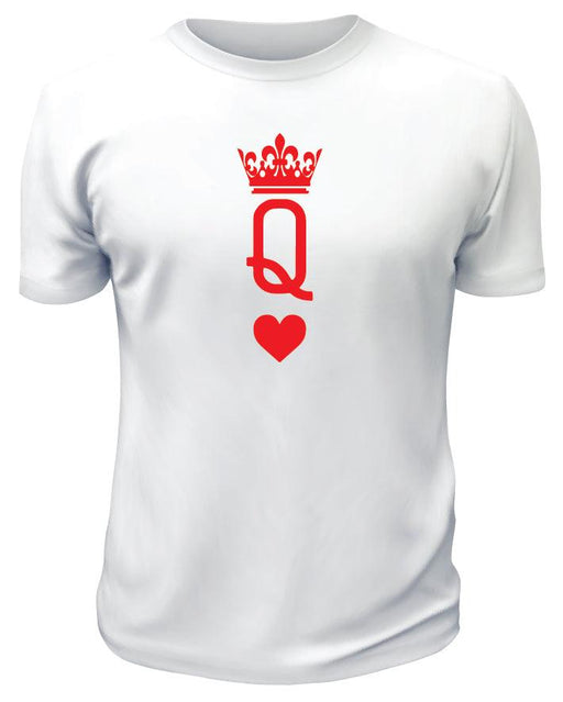 Queen with Heart TShirt - Printwell Custom Tees