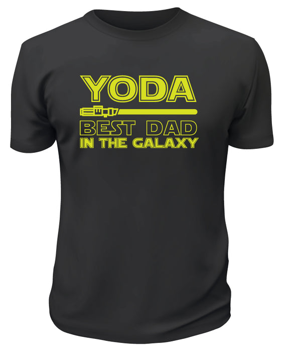 Yoda Best Dad in The Galaxy TShirt
