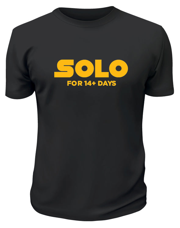 Solo 14+ Days TShirt - Printwell Custom Tees
