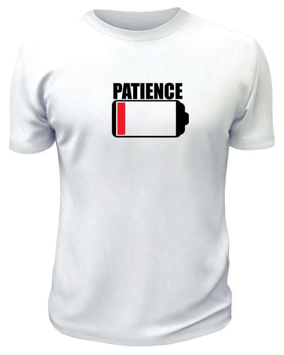Low On Patience TShirt - Printwell Custom Tees