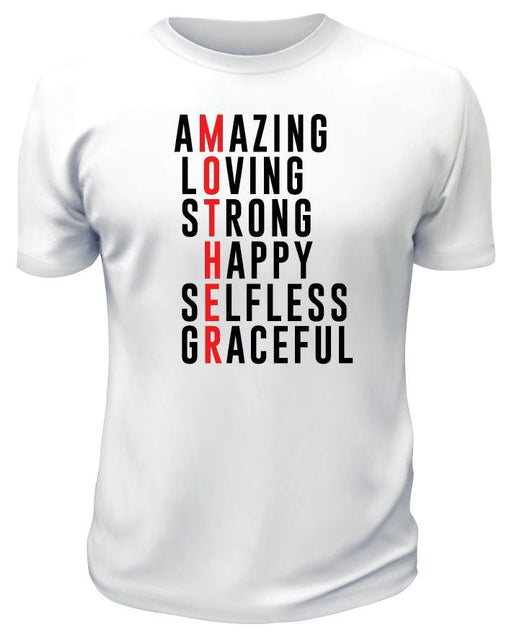 Amazing Mom TShirt - Printwell Custom Tees