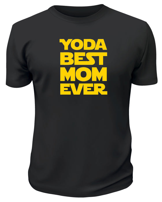 Yoda Best Mom Ever TShirt - Printwell Custom Tees