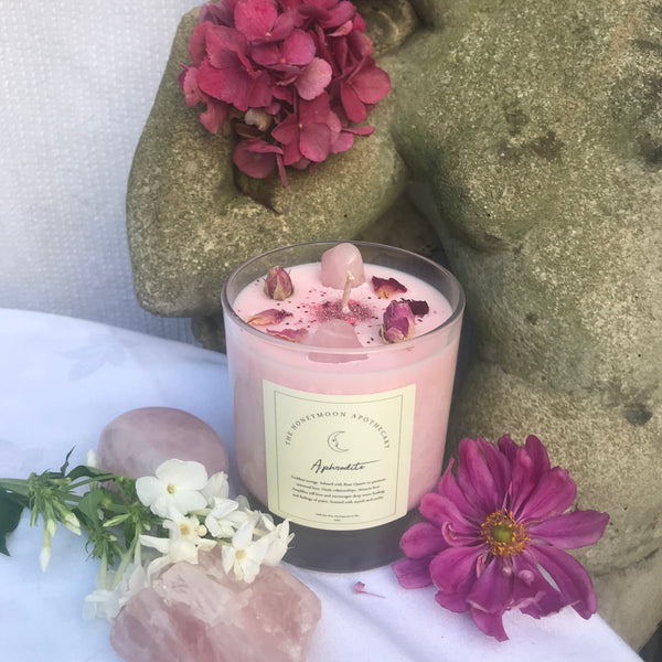 30cl Aphrodite Crystal Candle