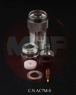 ZMP-CS07M-N, M,P, N MALE SOLDER, 7MM(.287~DIA), ULTRAFLEX 7