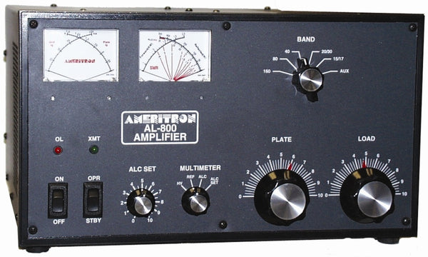 AL-800NT, HF AMPLIFIER, 1.25 kW, 800 TUBE, NO TUBE