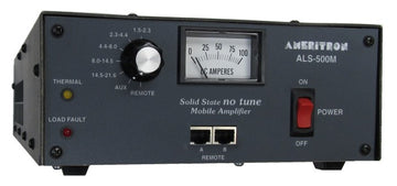 ALS-500M, MOBILE AMP, 500W SOLID STATE,REMOTE READY,13.8VDC
