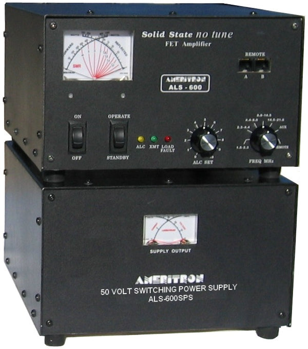ALS-600S, 600 WATT SOLID STATE AMP W/SWITCHING POWER SUPPLY