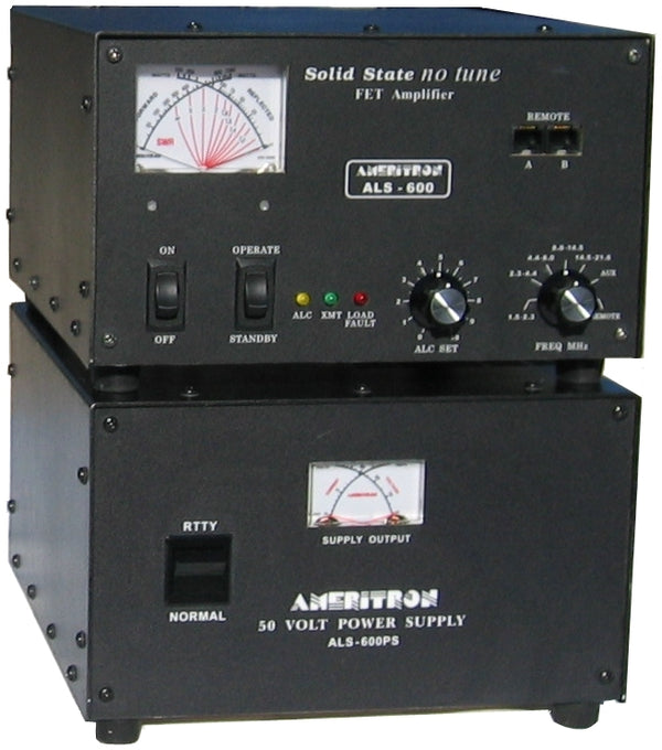 ALS-600, 600 WATTS SOLID STATE, HF AMPLIFIER