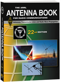 ARRL-5948, BOOK, ARRL ANTENNA BOOK, SOFT COVER,23 ED, 0444