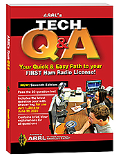 ARRL-5977QA, BOOK, ARRL TECH LICENSE MAN,Q,A, THRU 6/22, 0864